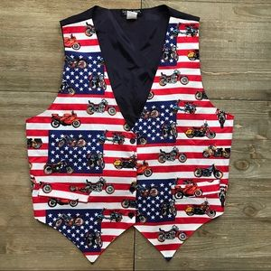 Vintage Americana Motorcycle Vest